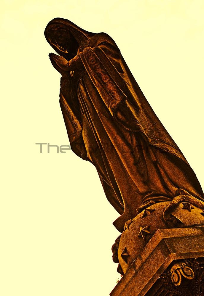 Stunning Cemetery Statue