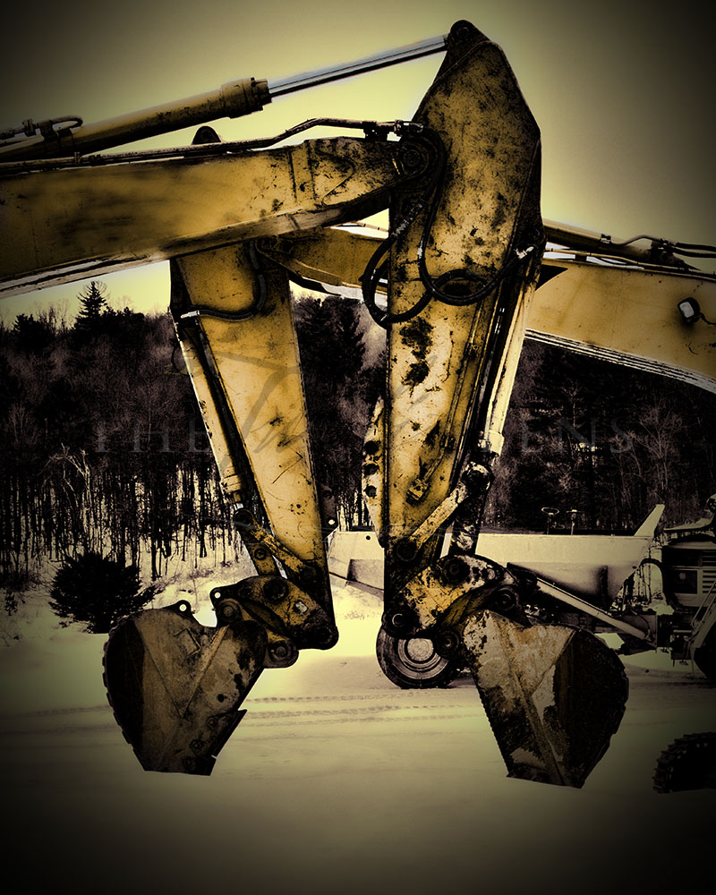 The Dreamer's Guide to Photography – Part 2: Resting Excavators