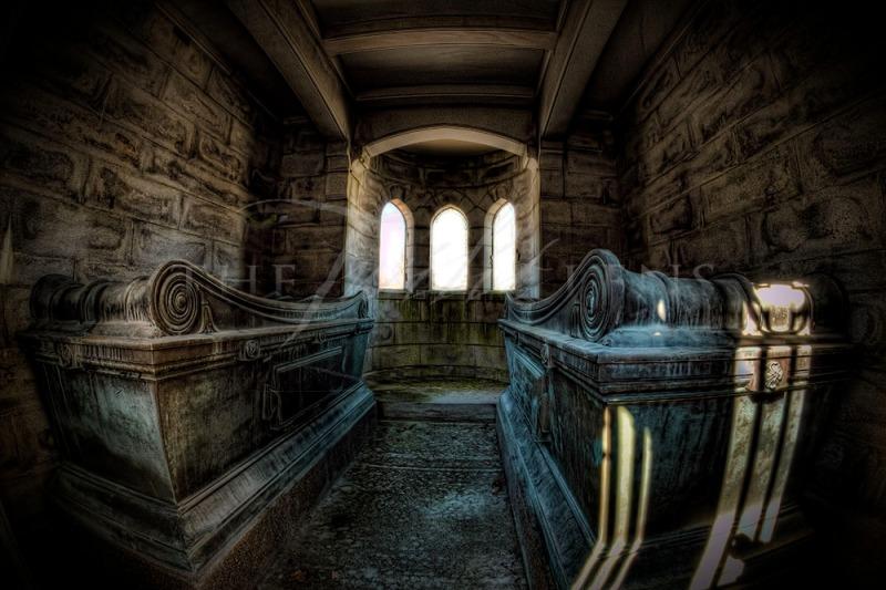 Eternal Rest - Mausoleum Interior Shot