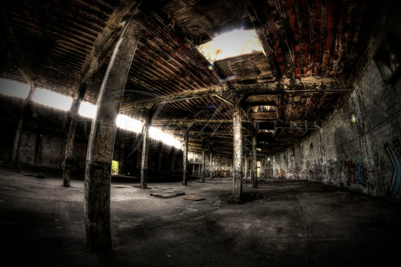 Abandoned Train Station: A Ghost of the Past