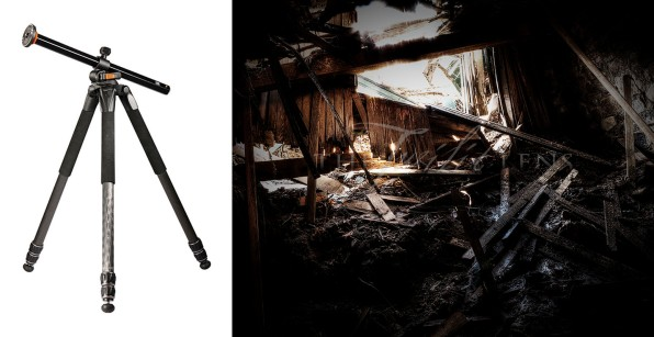 Vanguard Tripod and Coal Cellar