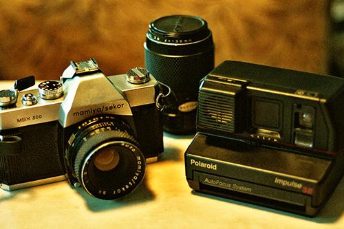 Thrift Shop Cameras