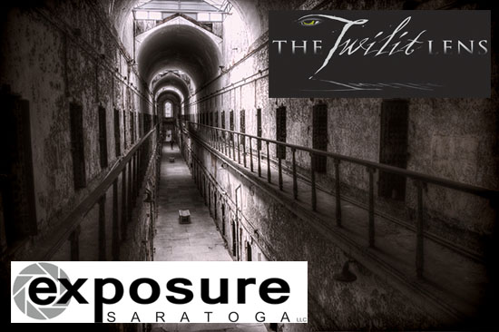 Prison Vista Photograph w/ Logos