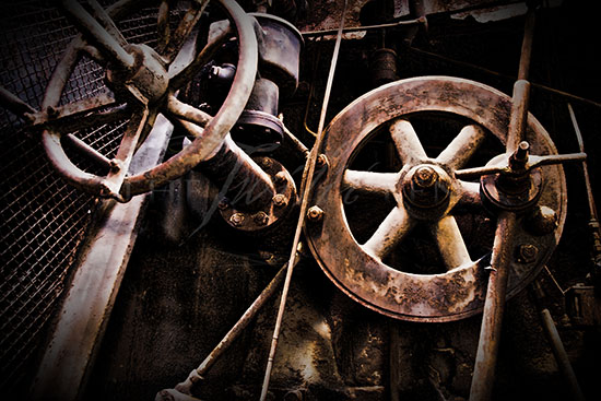 Rusted Wheels