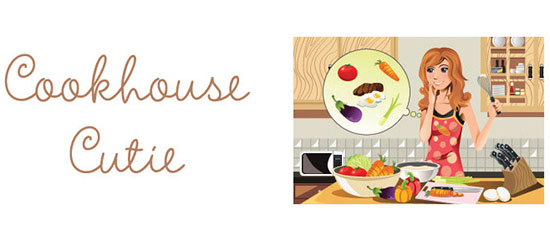 How to Rock Food: Cookhouse Cutie Blog Logo
